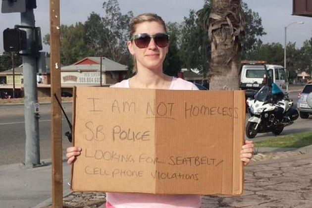 米の警察が、ホームレスに扮して