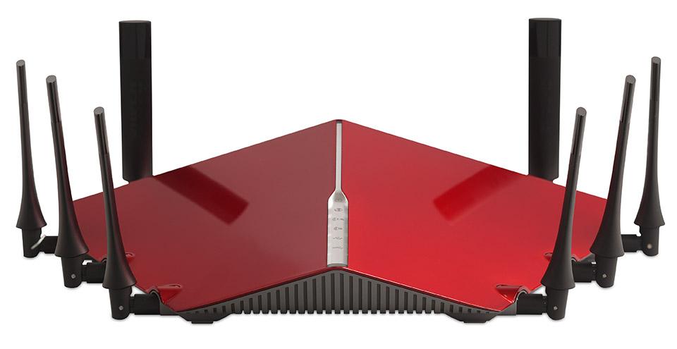 D-Link 推出三频路由器,速度超快,样子超怪