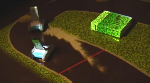 【ビデオ】日本人が発明した「自分の部屋をマリオカートのサーキットに変える方法」