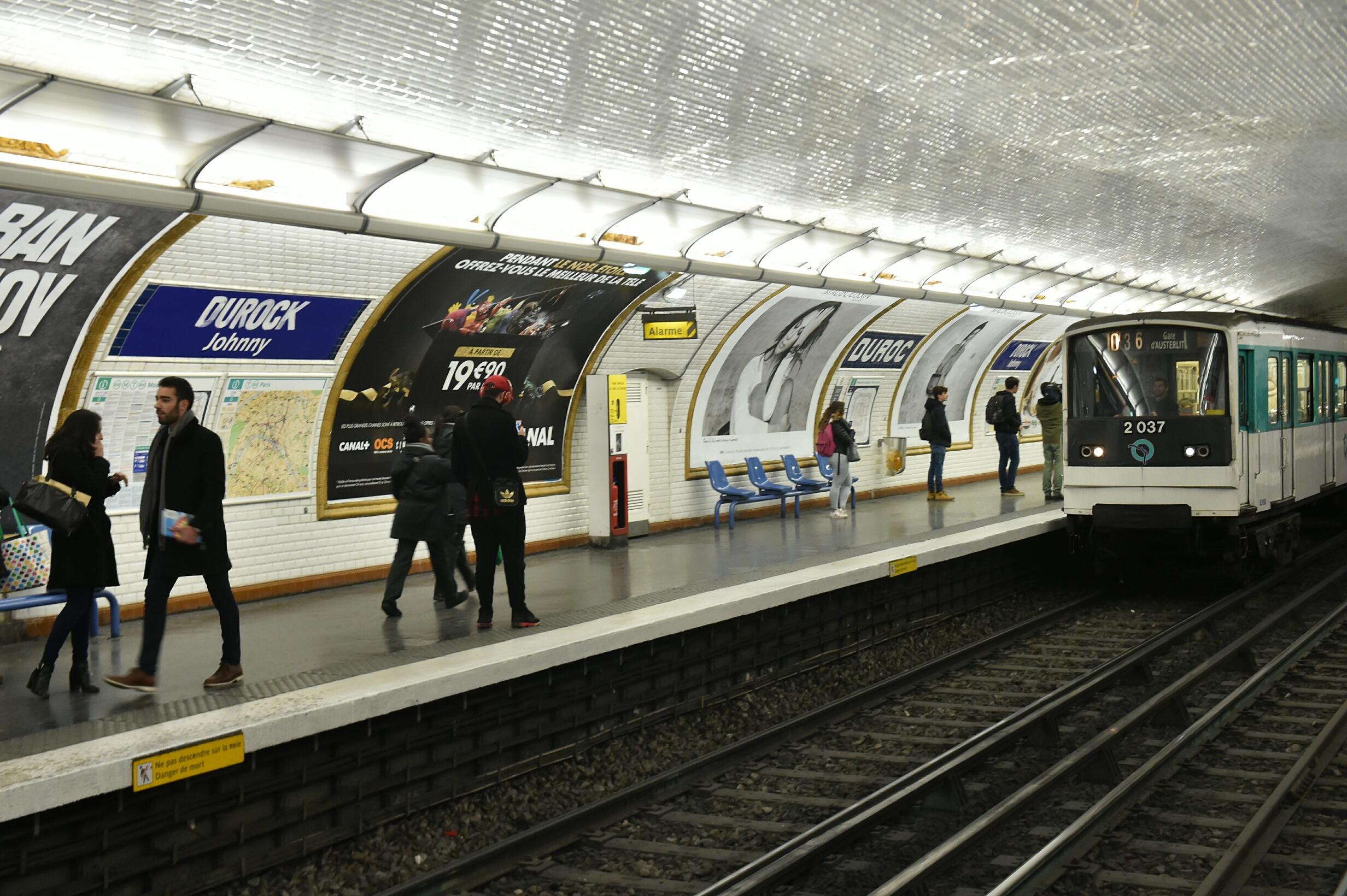 Mort de Johnny Hallyday: la RATP rebaptise la station
