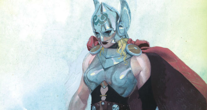 marvel thor woman