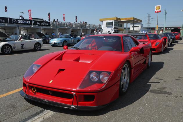 トヨタ 2000GTからフェラーリ 458まで、新旧の名車が走った「オールドナウ・カーフェスティバル」