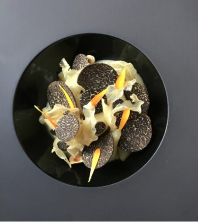 Truffles and Jerusalem artichokes from Restaurant at