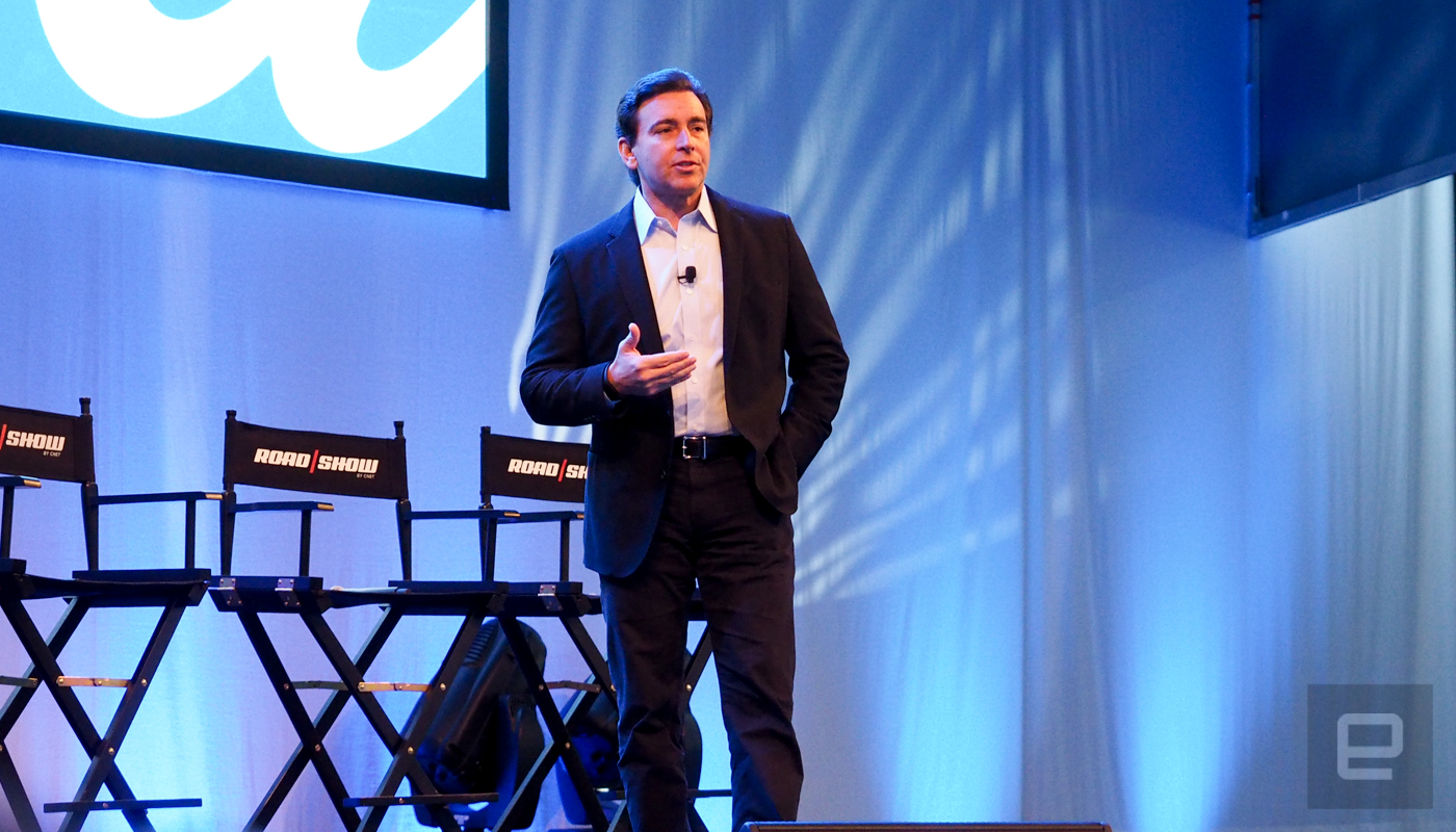 sc 1 st  Engadget & Ford CEO Mark Fields looks to a future beyond car ownership markmcfarlin.com