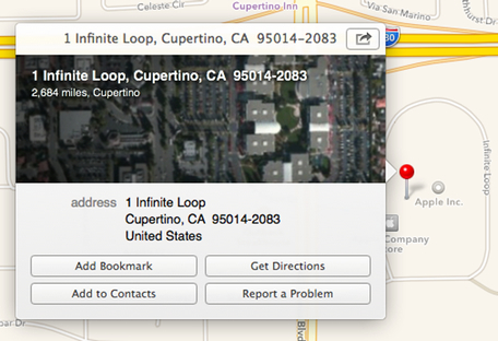 Contacts Address Book Maps Directions