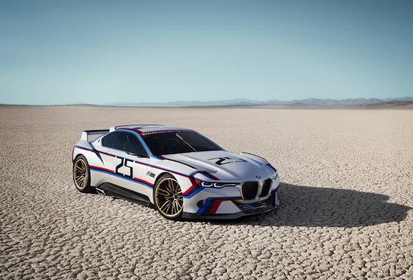 BMW reveals CLS Hommage R Concept in iconic livery