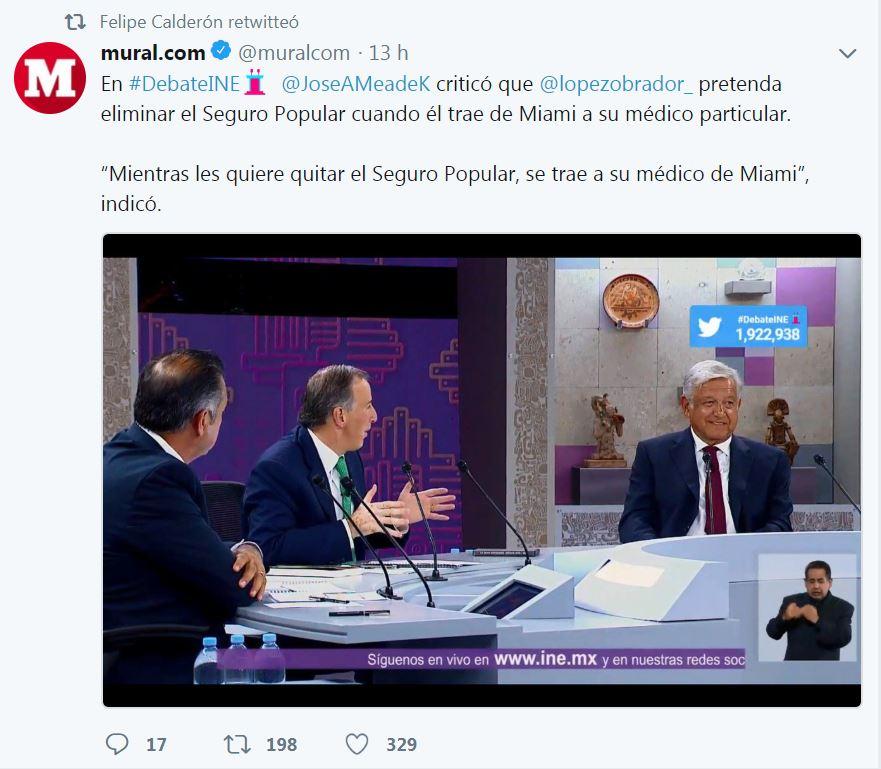 Todo menos AMLO, pareciera pensar Calderón; el expresidente se unió hasta con Ricardo