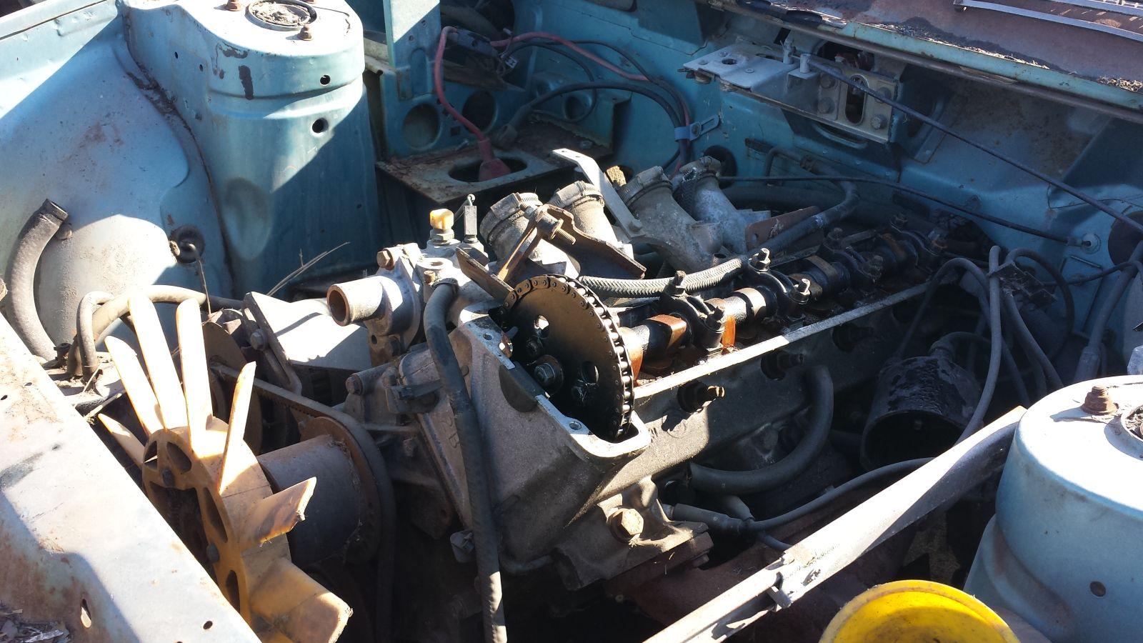 1980 Triumph TR7 in California self-service wrecking yard
