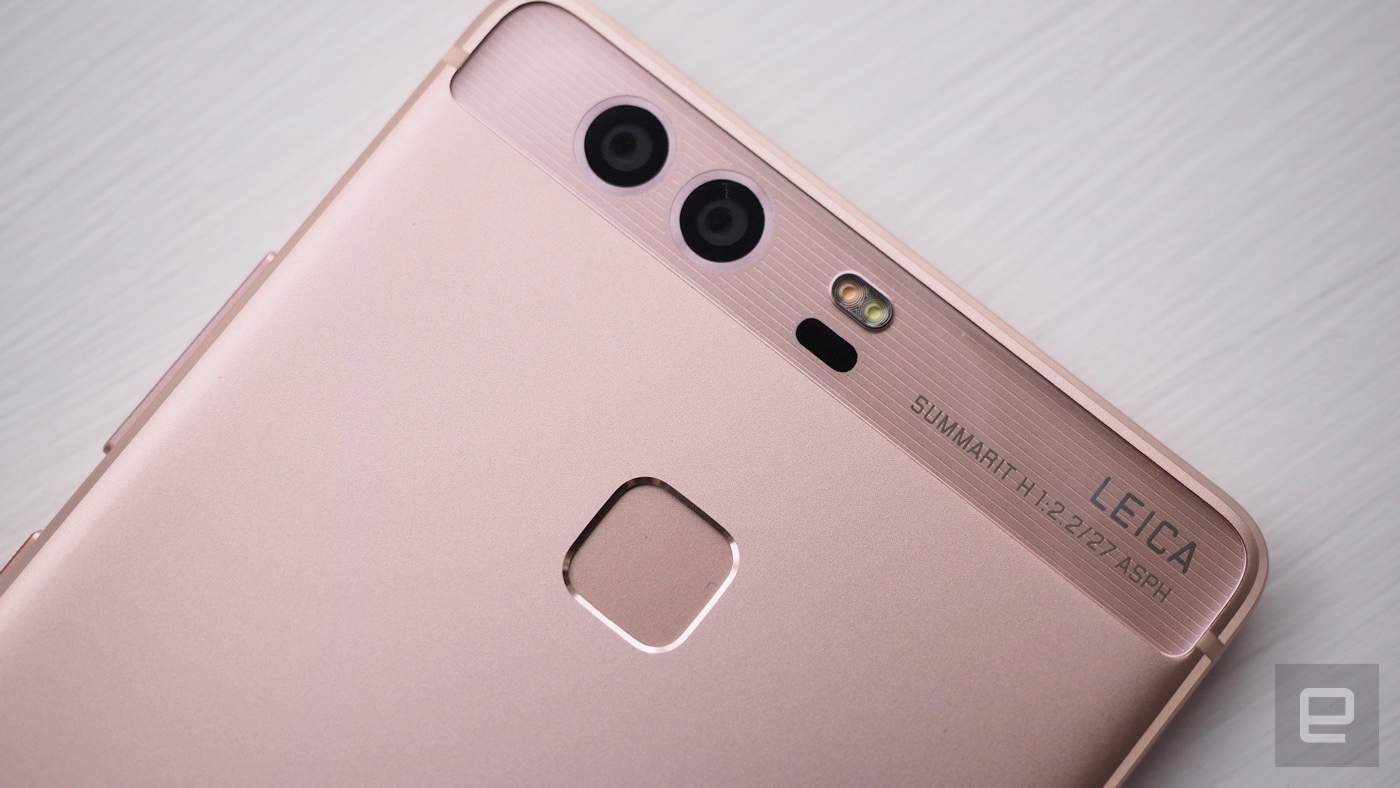 Huawei's P9 flagship phone has a Leica-endorsed dual camera