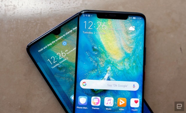 - huawei mate 20 and mate 20 pro 1 640 - The Morning After: Robot Dance