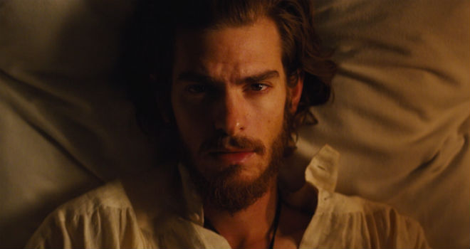 Andrew Garfield in Martin Scorsese's SILENCE