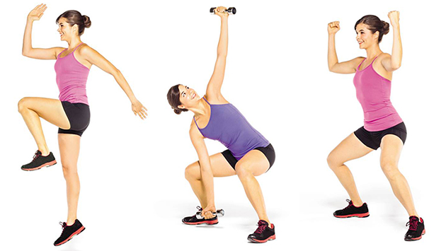 Shed those calories with this workout