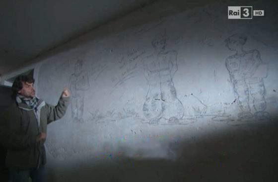 """""""Grazie ad Alberto Angela, dopo 75 anni, ho riconosciuto in un murales il nazista che voleva portare..."""