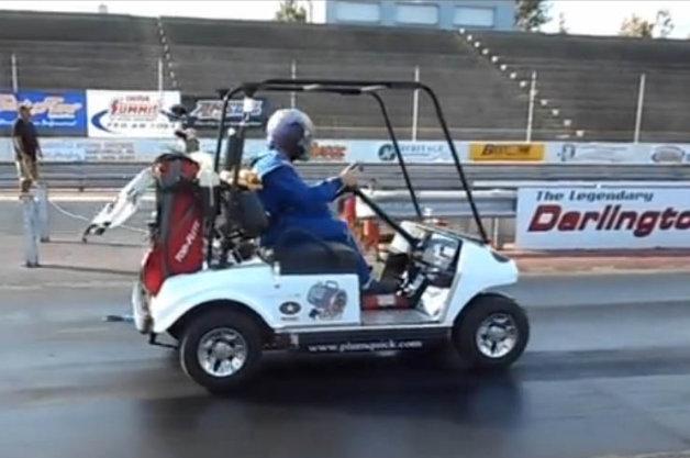 【ビデオ】時速190km超え! ギネスに認定された史上最速のゴルフカート