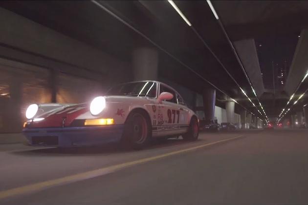 【ビデオ】真夜中のLAをストリート・レーサー仕様のポルシェでドライブ!