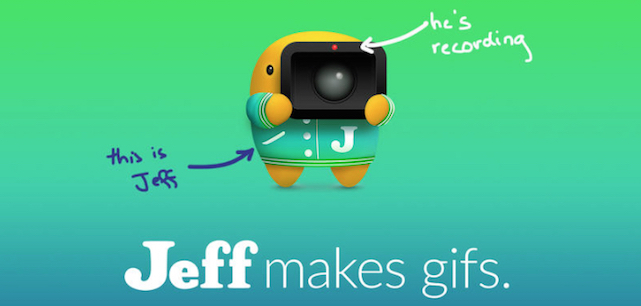Jeff: Screen sharing through GIFs