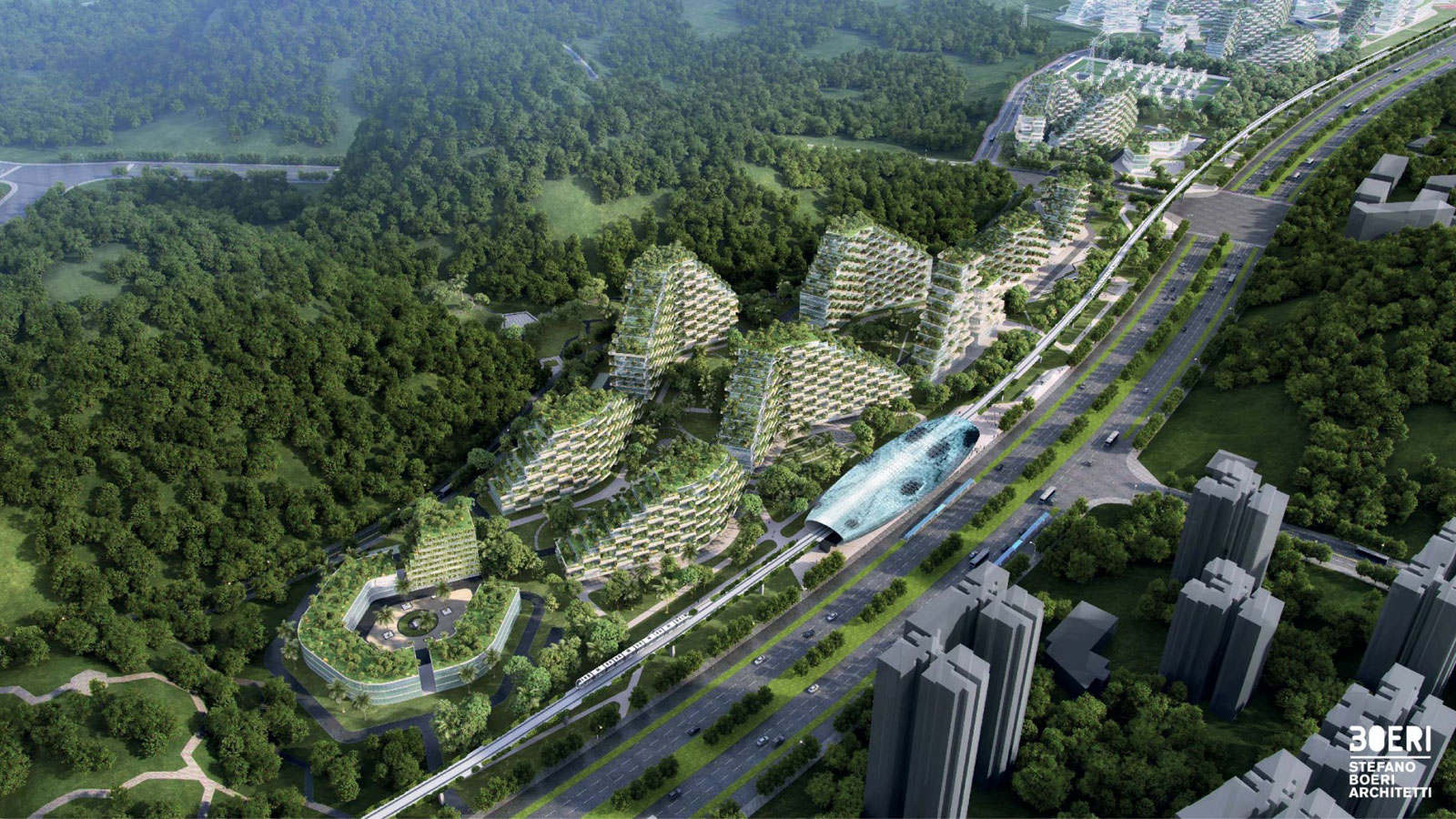 A city covered in trees will fight air pollution in china for Liuzhou forest city