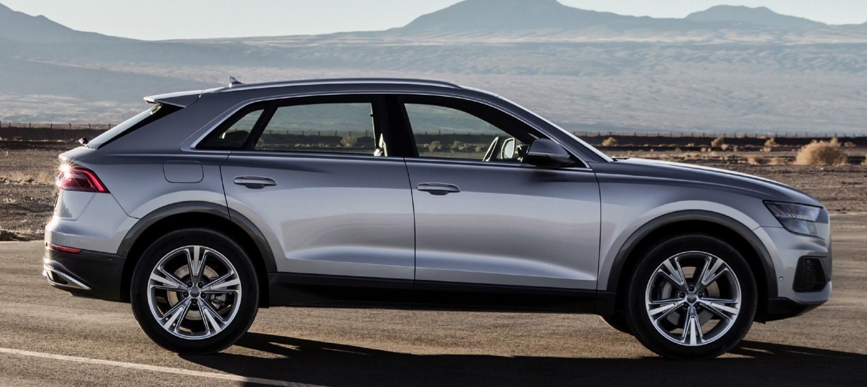 2019 Audi Q8 profile