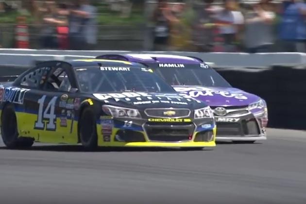 【ビデオ】NASCARソノマのロードコースで、トニー・スチュワートが激戦を制し久々の優勝!