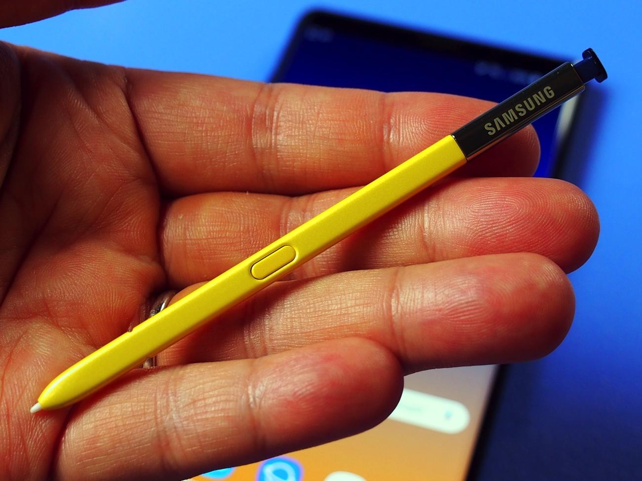 Galaxy Note9のSペンで出来ること、活用法   スマ …