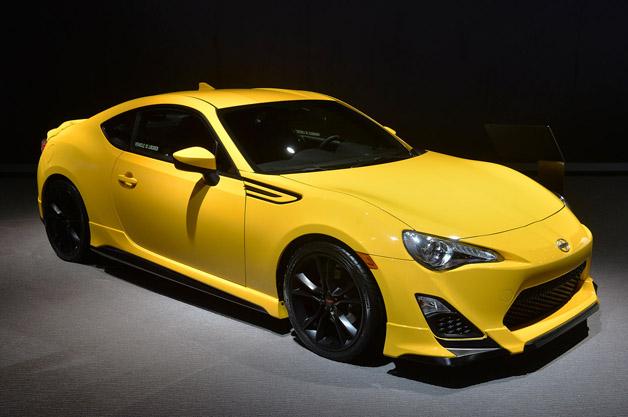【NYオートショー2014】サイオン「FR-S RS1.0」(トヨタ「86」の限定車)が初公開
