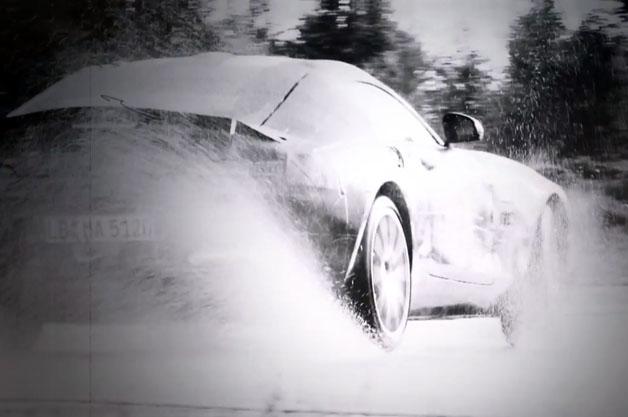【ビデオ】メルセデス・ベンツが新型モデル「AMG GT」のティーザー映像を公開