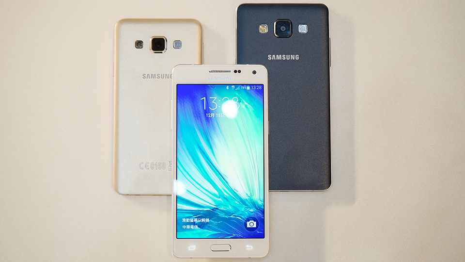 全金屬機身的 Samsung Galaxy A5 與 A3 終於降臨台灣,你感動嗎?