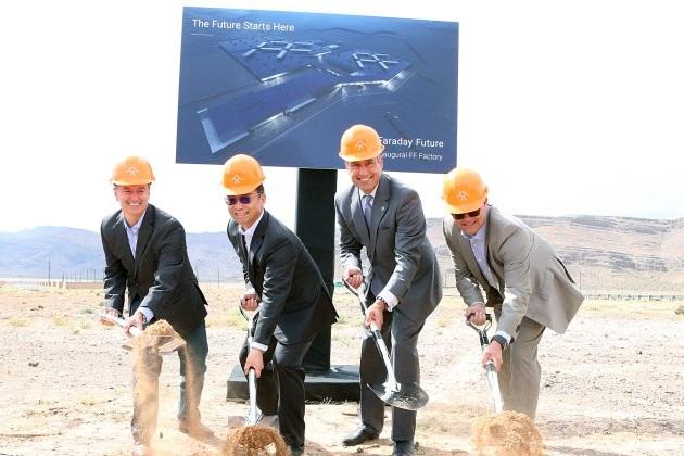 ファラデー・フューチャー、米国ネバダ州の電気自動車生産工場建設を中断