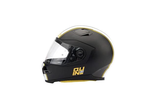 【ビデオ】事故にあったら自動的に救助を呼んでくれるオートバイ用スマート・ヘルメット「Quin」