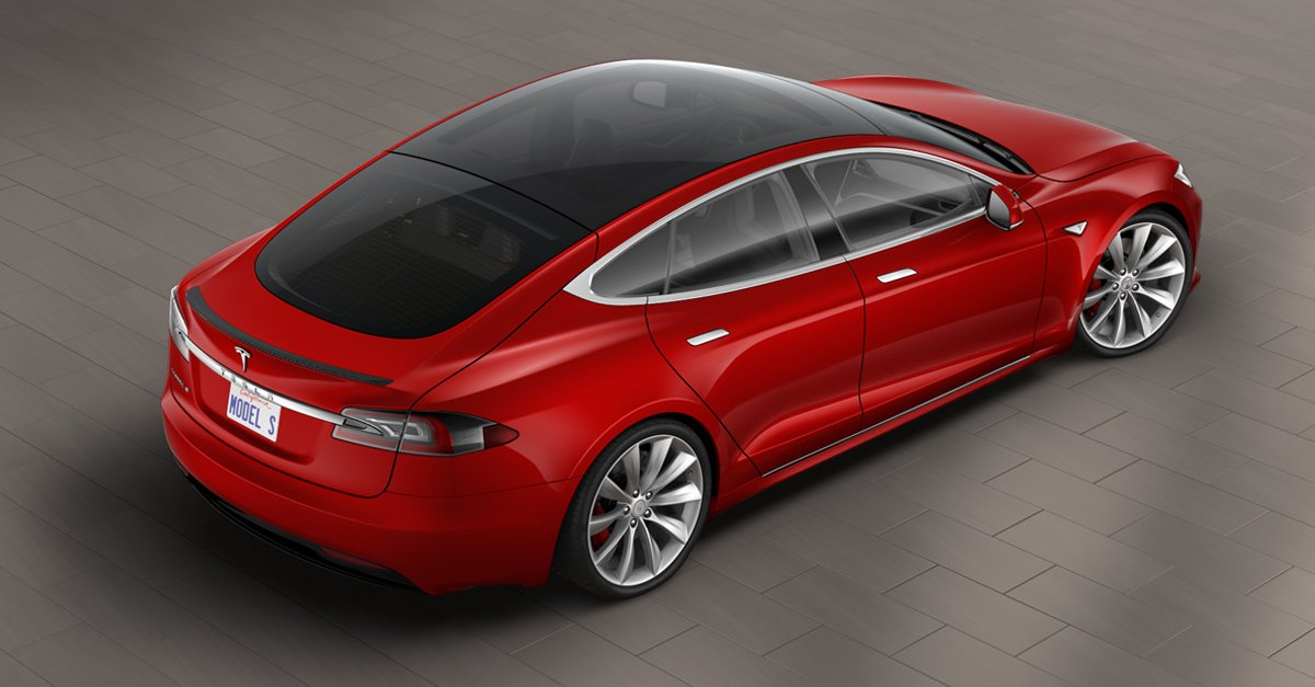 Tesla Added An Allglass Roof To The Model S - All tesla models
