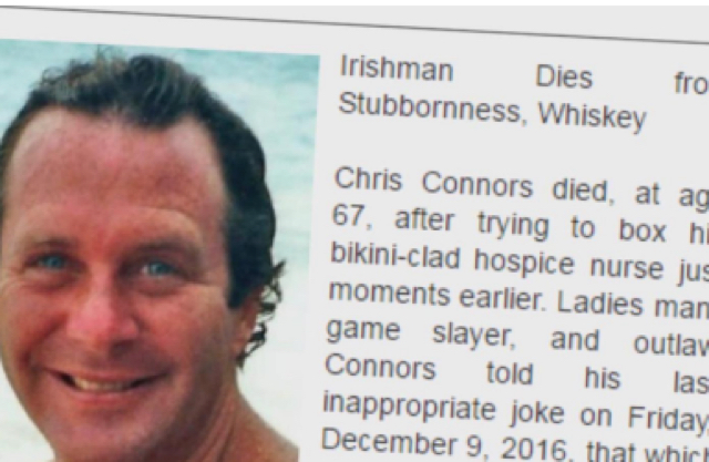 Daughter Writes Hilarious Obituary To Honor 'Game Slayer' And 'Outlaw' Dad