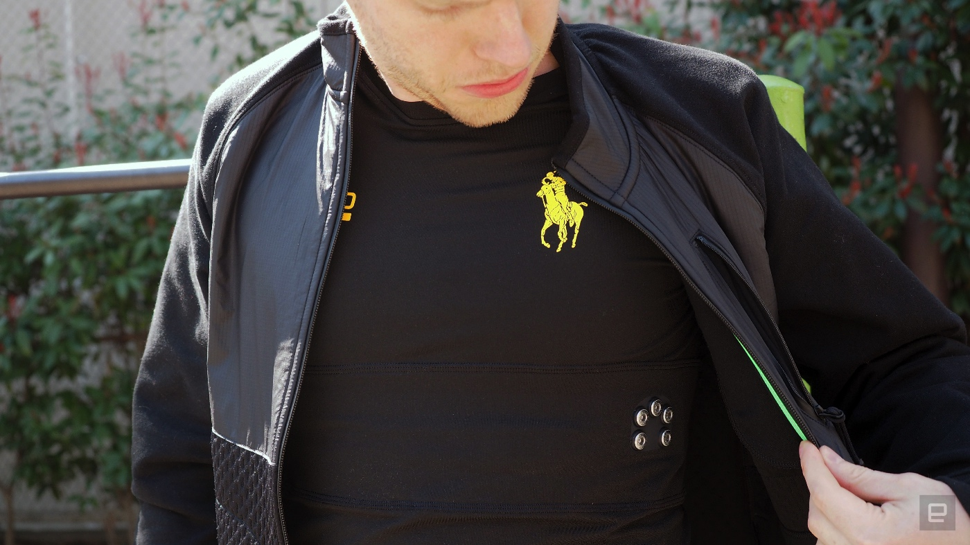 Ralph Lauren made a great fitness shirt that also happens to be 'smart'
