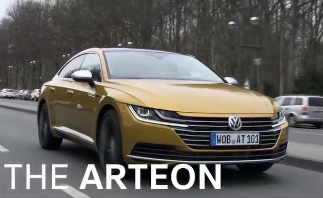 【ビデオ】フォルクスワーゲン、新型フラッグシップ・モデル「アルテオン」で高級車市場を(再び)目指す!