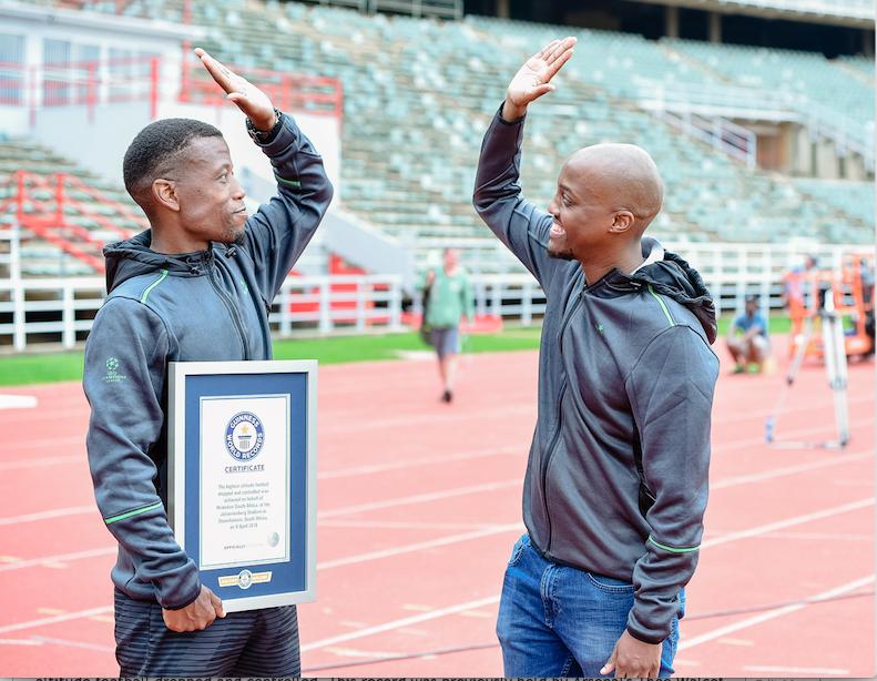 WATCH: Freestyle Footballer Khris Njokwana Breaks World