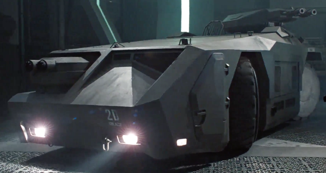 The M577 APC from the Aliens movies.
