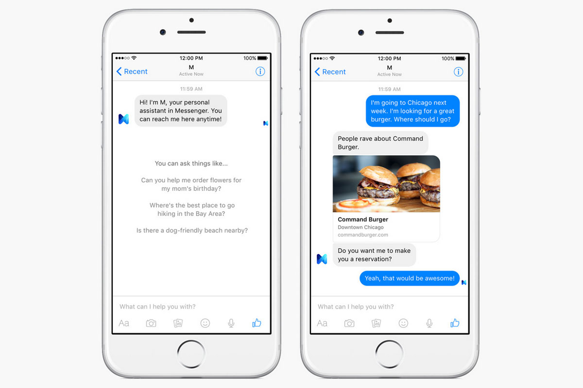 Facebook is shutting its human-powered M assistant on Jan 19