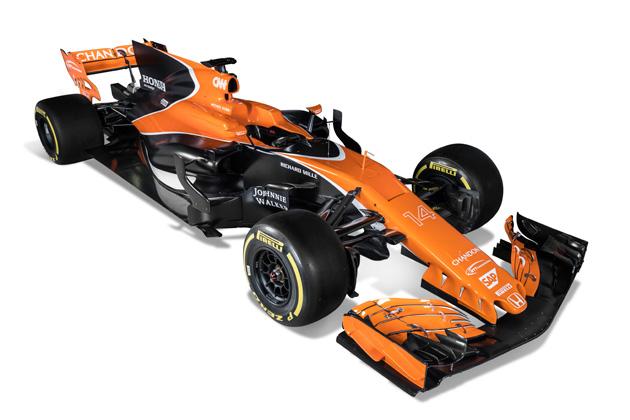 マクラーレン・ホンダ、2017年用の新型F1マシン「MCL32」を公開