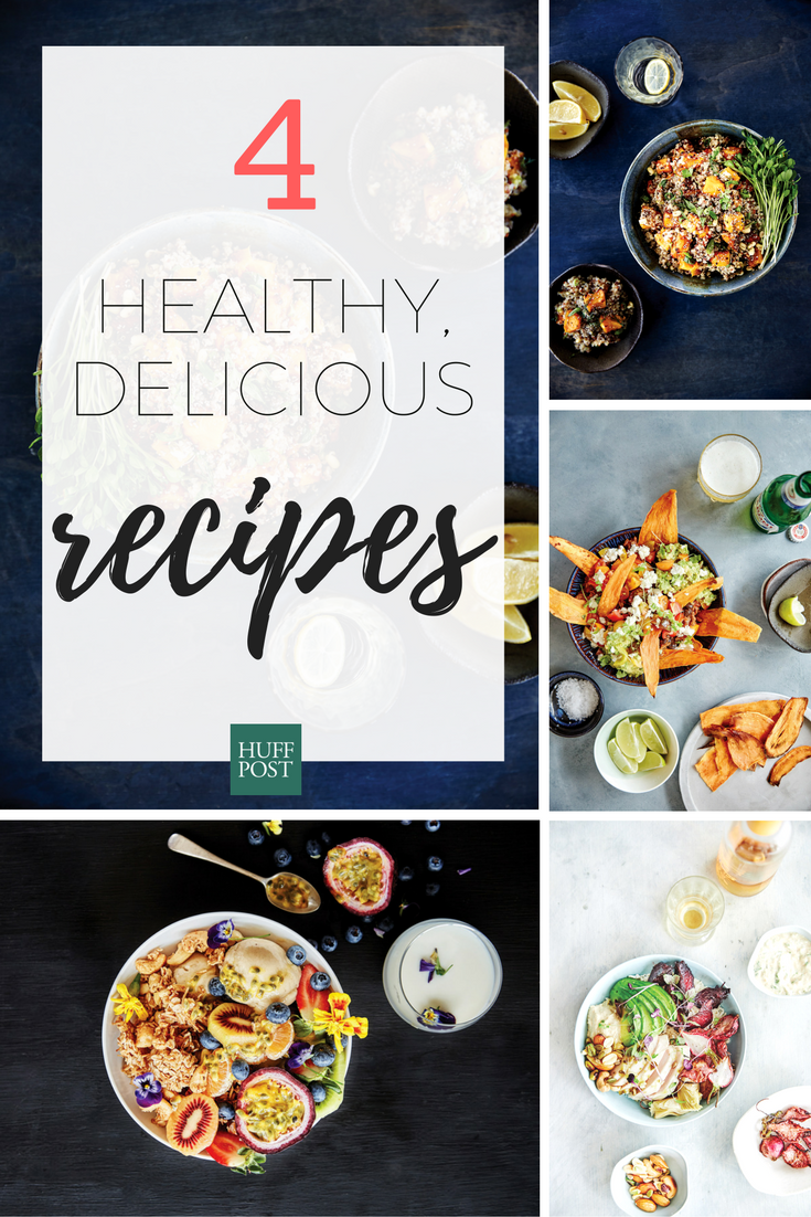 On The Health Train? Try These Healthy, Delicious