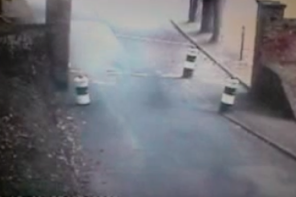 Dover Castle 'ghost' caught on CCTV video