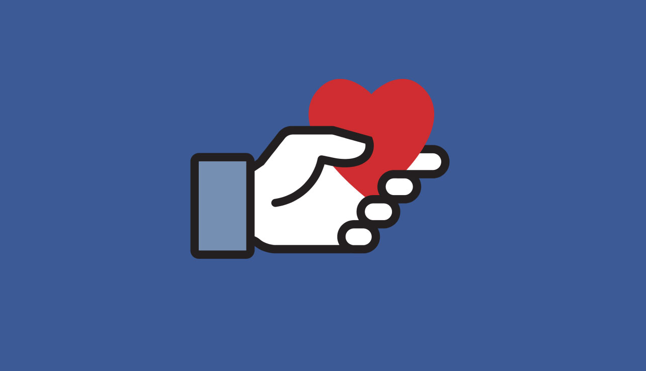 Image result for facebook donate button