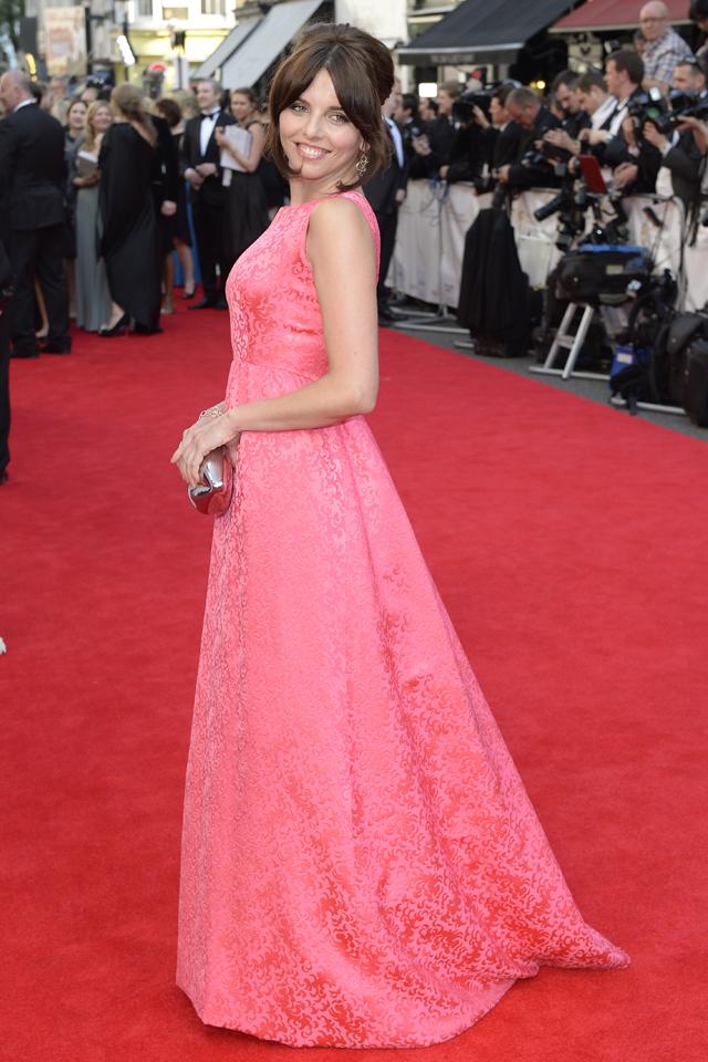 Ophelia Lovibond BAFTA 2014