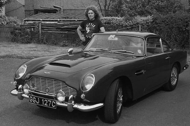 元レッド・ツェッペリンのロバート・プラントが以前所有していた1965年製アストンマーティン「DB5」が売り出し中!