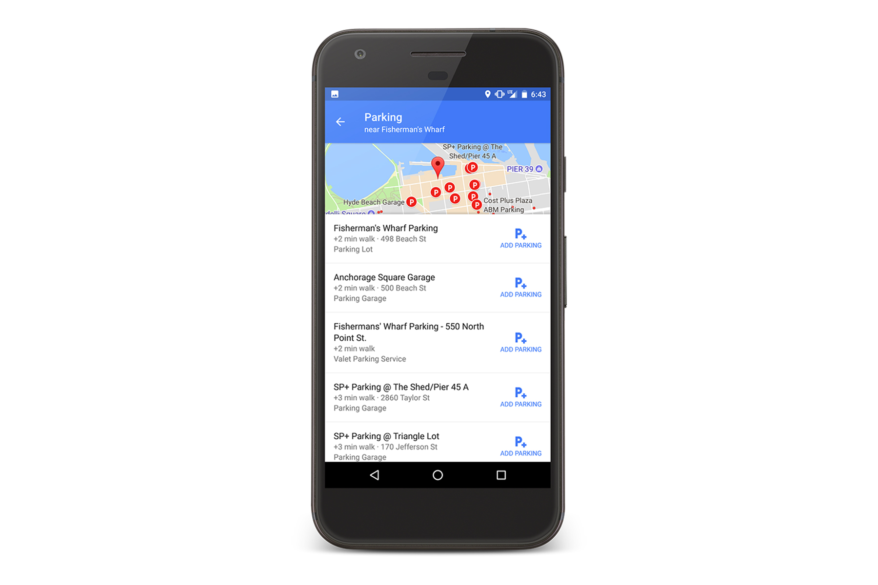 Google Maps will help you park in 25 more cities