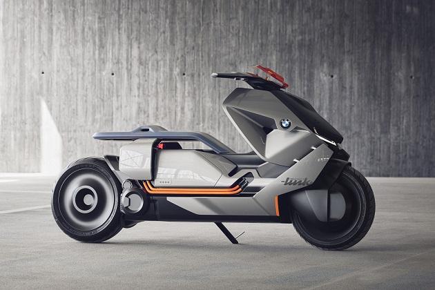 【ビデオ】BMWモトラッド、都市部の移動に適した近未来的な電動バイクのコンセプトを発表
