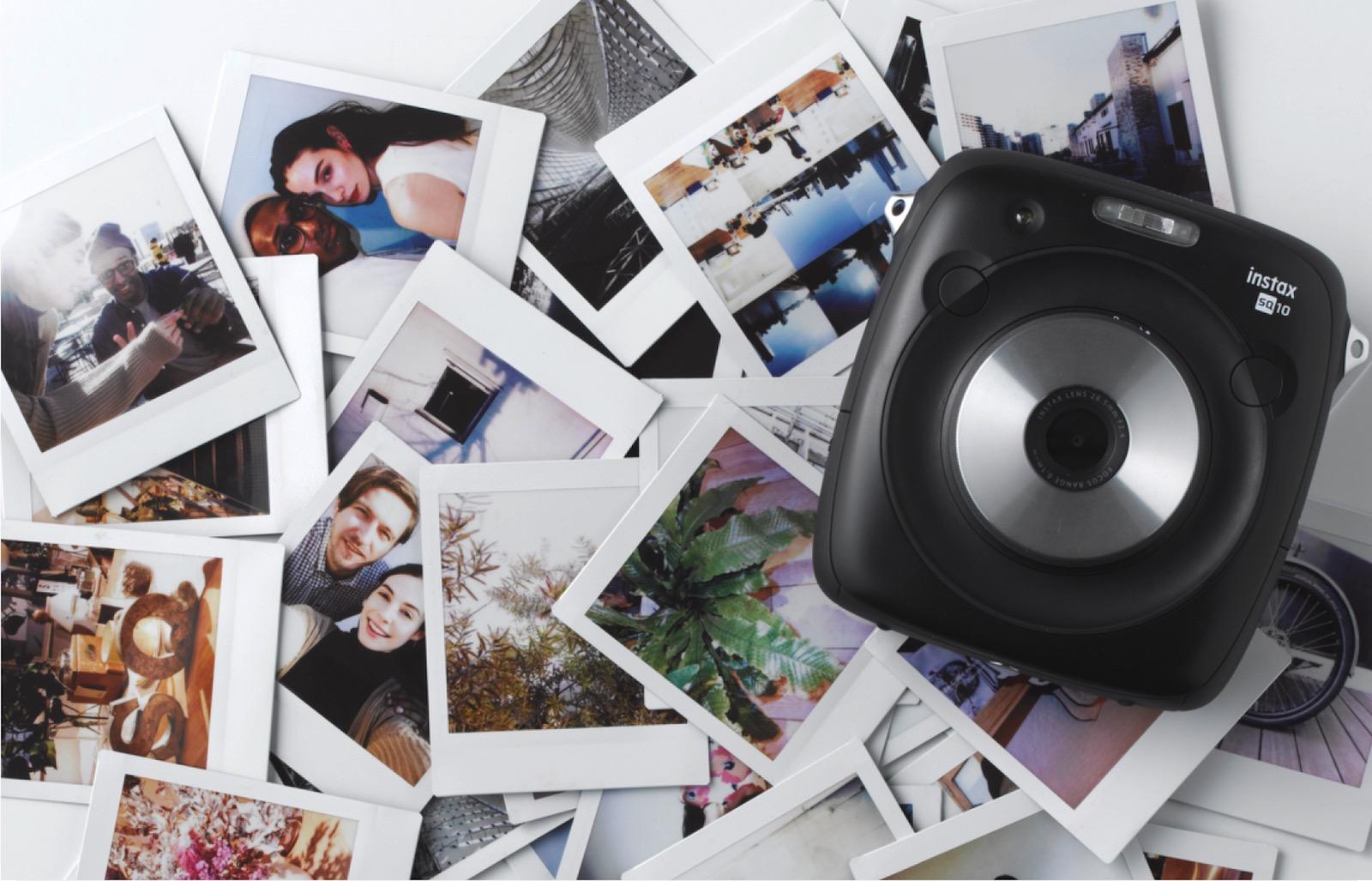 Fujifilm's new Instax camera is half digital, half instant