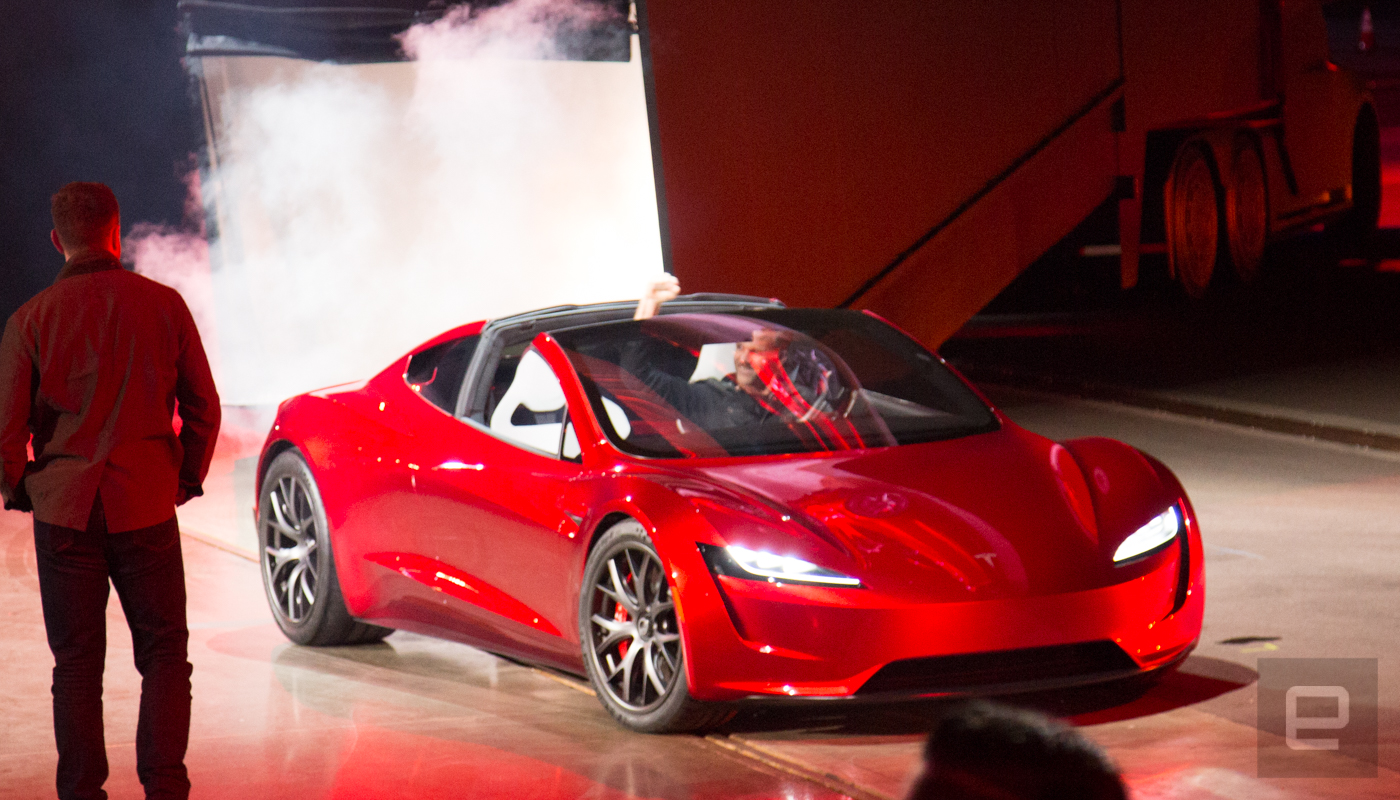 tesla roadster fastest production car ever. Black Bedroom Furniture Sets. Home Design Ideas