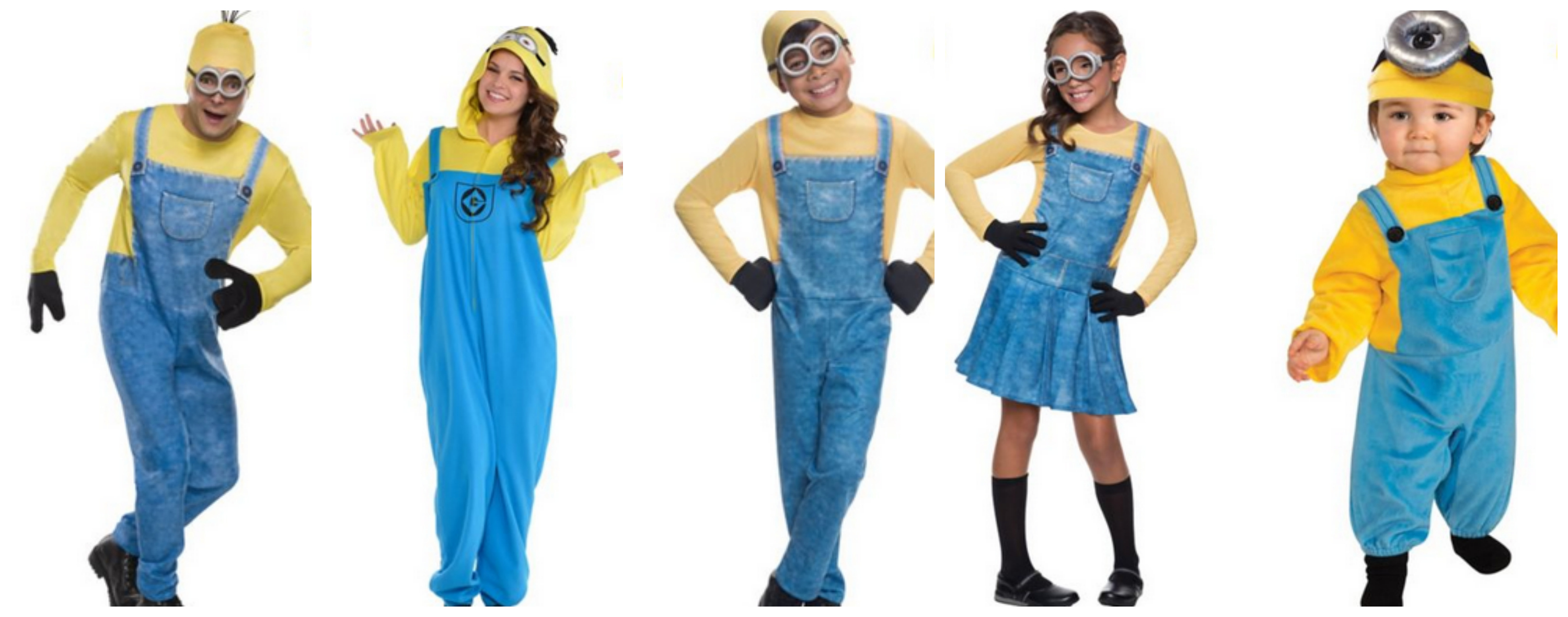 Minions Family Halloween Costume Idea