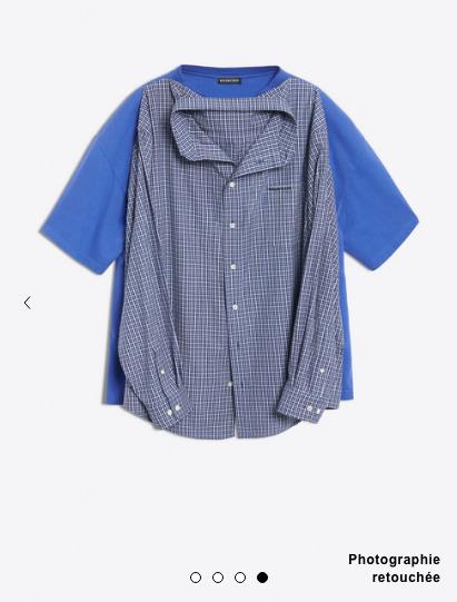 Cette «chemise double» Balenciaga fait jaser la toile et il y a de