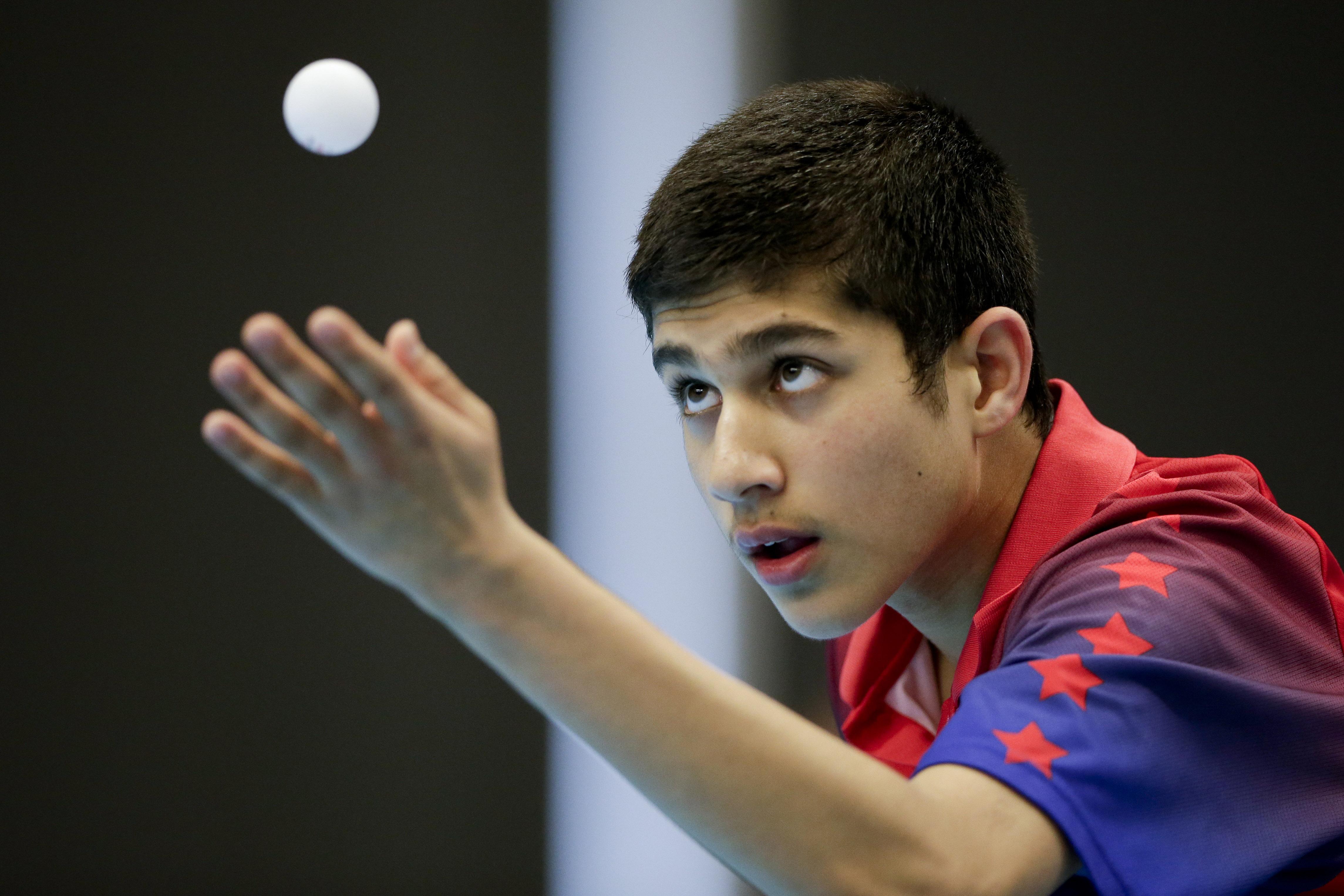 CORRECTION Canada Pan Am Games Table Tennis
