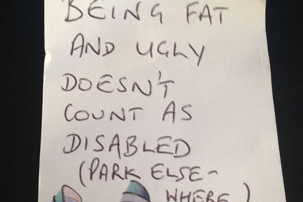The note found by Sarah Metcalfe.